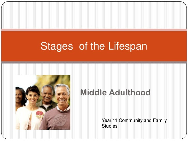 Middle Adulthood<br />Stages  of the Lifespan<br />Year 11 Community and Family Studies<br />