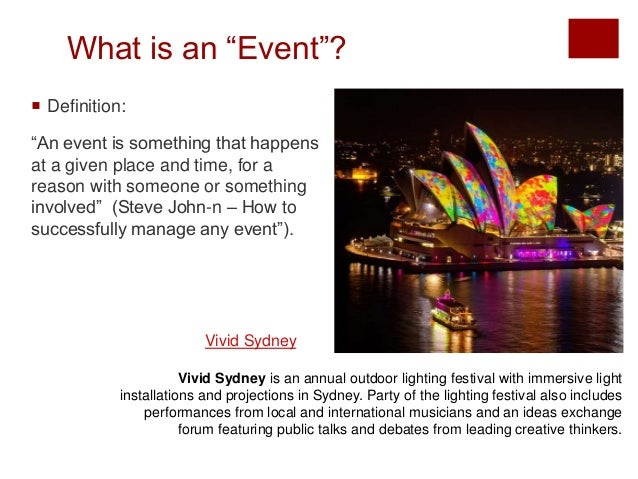 How to Successfully Manage any Event?  Slide 2