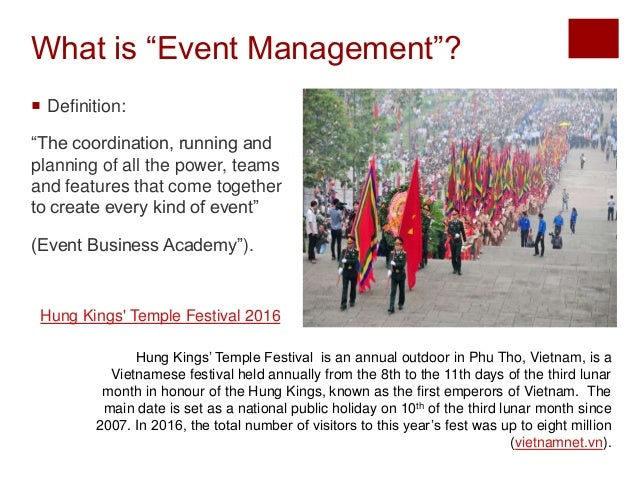 How to Successfully Manage any Event