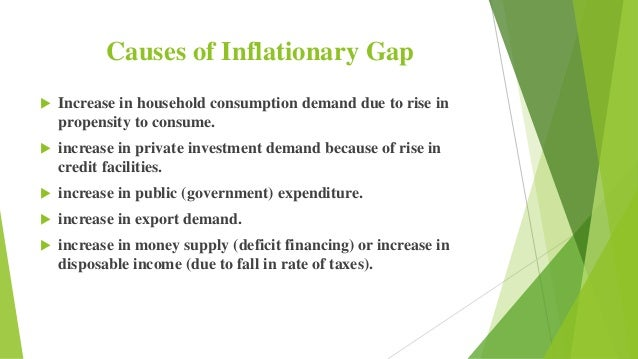 how to close inflationary gap