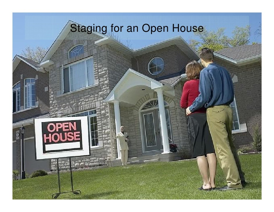 Staging for an Open House