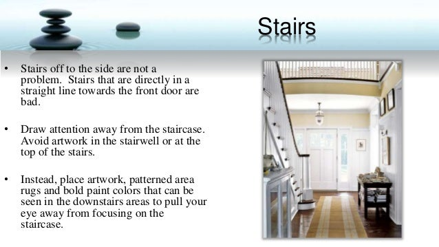 Staging for feng shui for Feng shui bedroom door facing stairs