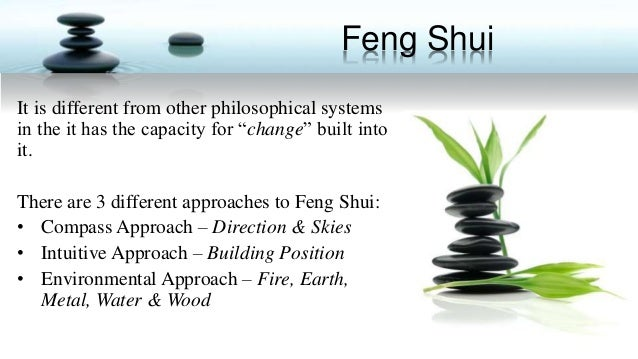 Staging for Feng Shui