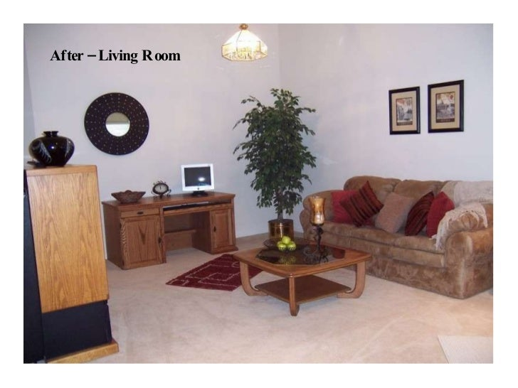 After – Living Room