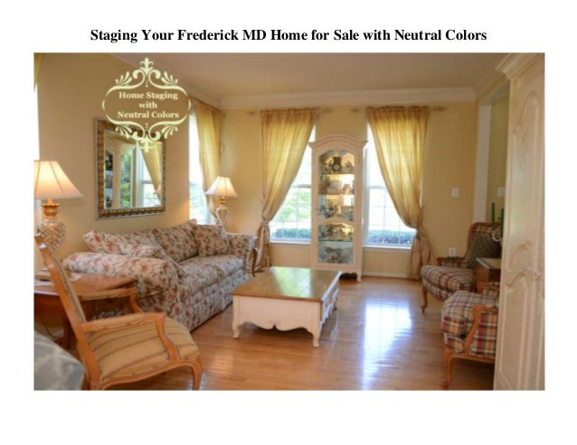 Staging Your Frederick MD Home for Sale with Neutral Colors