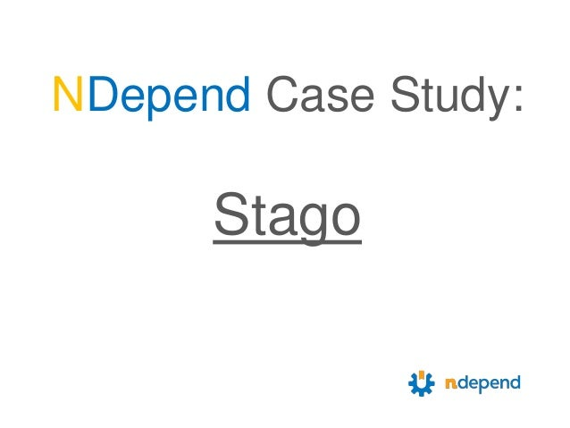 NDepend Case Study: Stago