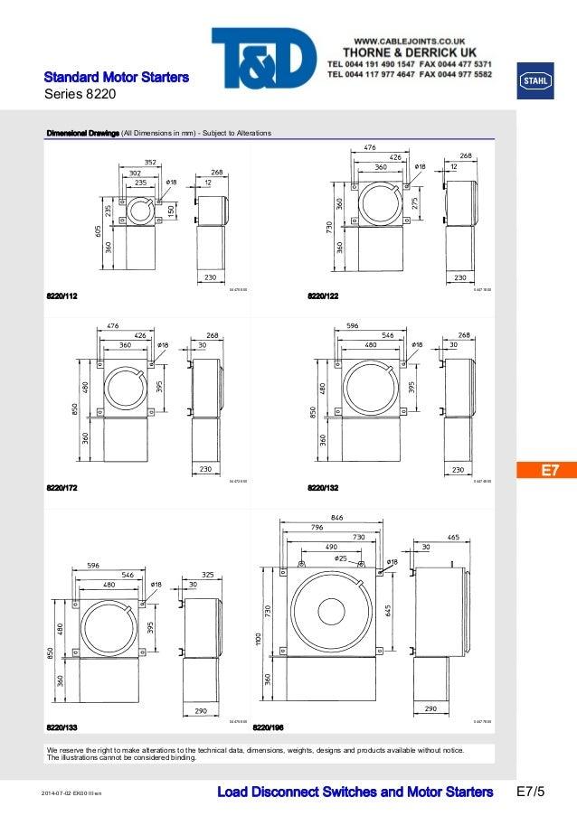 stahl 8220 star delta motor starters  u2013 atex zone 1 zone 2 hazardous a u2026
