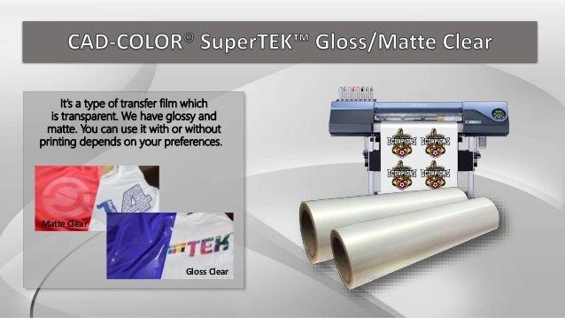 Stahls Cad Color Supertek Printable Heat Transfer Vinyl