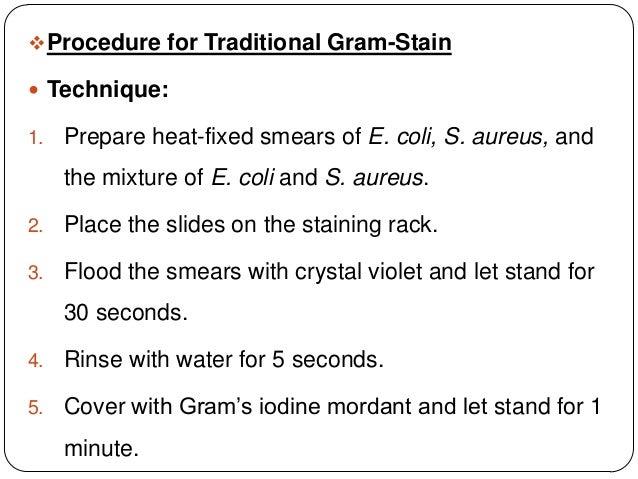 Gram Staining Ppt