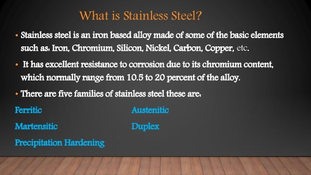 What Is Stainless Steel Made Of >> Stainless Steel