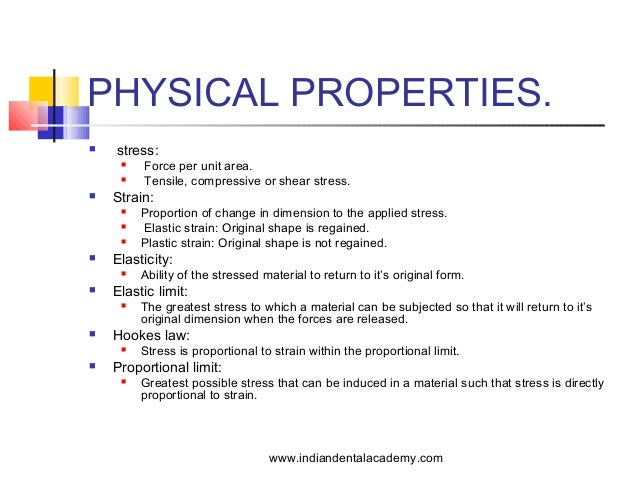 Physical And Chemical Properties Of Stainless Steel