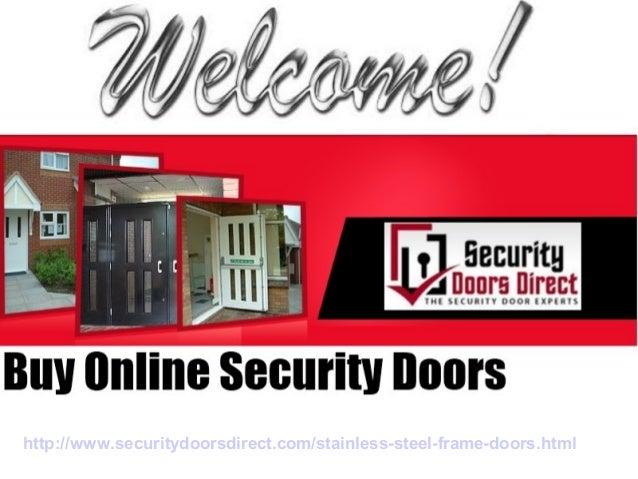 Stainless Steel Frame Doors Buy Online