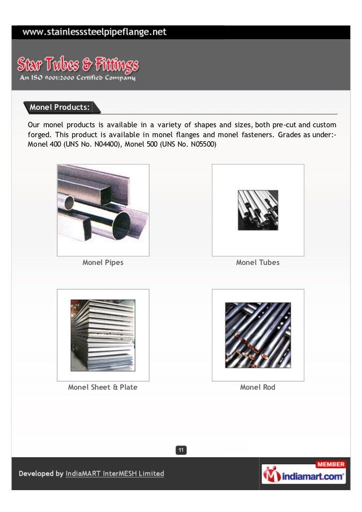 Monel Products:Our monel products is available in a variety of shapes and sizes, both pre-cut and customforged. This produ...