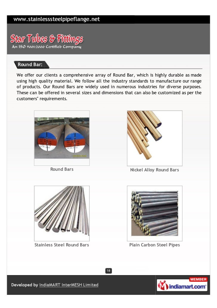 Round Bar:We offer our clients a comprehensive array of Round Bar, which is highly durable as madeusing high quality mater...