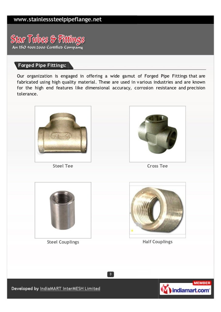 Forged Pipe Fittings:Our organization is engaged in offering a wide gamut of Forged Pipe Fittings that arefabricated using...