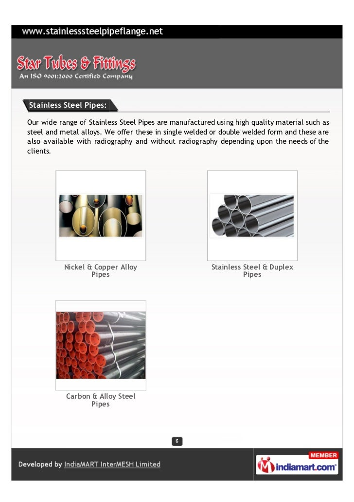 Stainless Steel Pipes:Our wide range of Stainless Steel Pipes are manufactured using high quality material such assteel an...