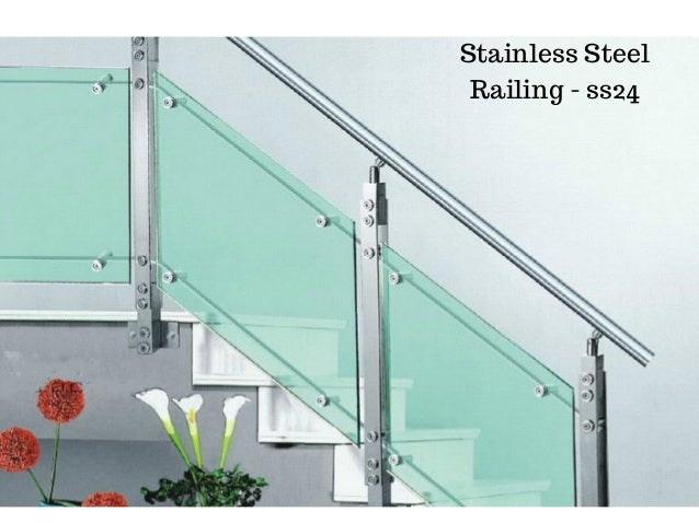 Stainless steel railing design by ak service food equipment for Ak decoration building services