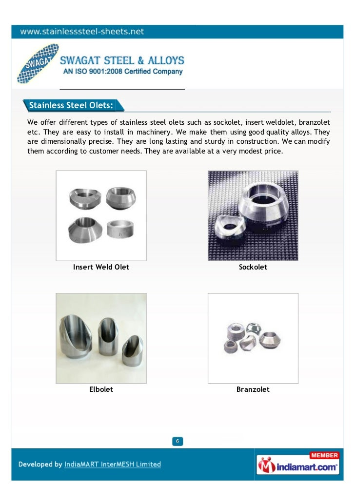 Swagat steel alloy mumbai pipe and fittings