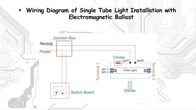 stair case wiring and tubelight wiring led tube light wiring diagram Tube Light Diagram lamp  switch  wires; 11  wiring diagram of single tube