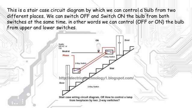 Stair case wiring and tubelight wiring diagram 8 this is a stair case circuit asfbconference2016 Images