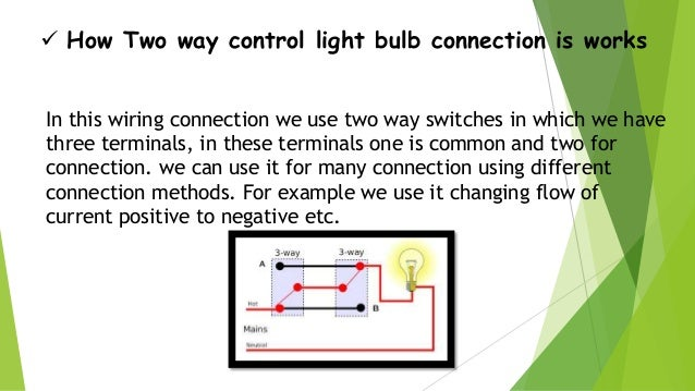 Staircase wiring circuit diagram ppt wiring diagram staircase wiring ground wiring shop wiring diagram 5 how two way control light bulb greentooth Image collections