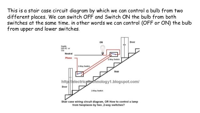 staircase wiring circuit diagram 2 way switch wiring diagramstaircase wiring \\u0026 ground wiringdiagram; 8 this is a stair case circuit