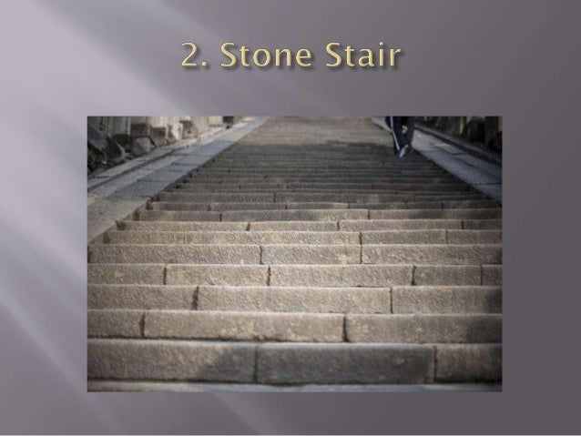 2. Dog legged Stair : •It consists of two straight flights of steps with abrupt turn between them. A level landing is plac...