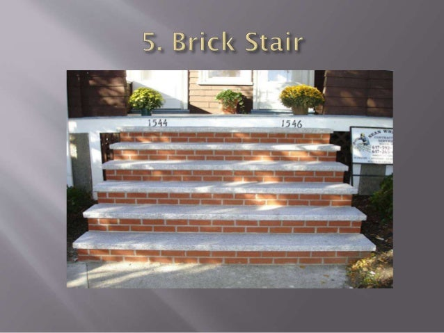5. Three Quarter Turn Stair : •A stair turning through right angles (270 degree) is known as three quarter turn stair. •In...