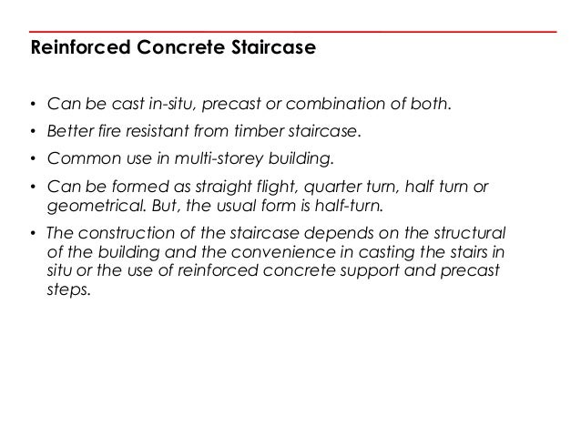 30. Reinforced Concrete Staircase ...