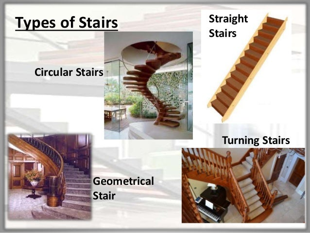 Merveilleux Types Of Stairs Straight Stairs Circular Stairs Turning Stairs Geometrical  Stair ...