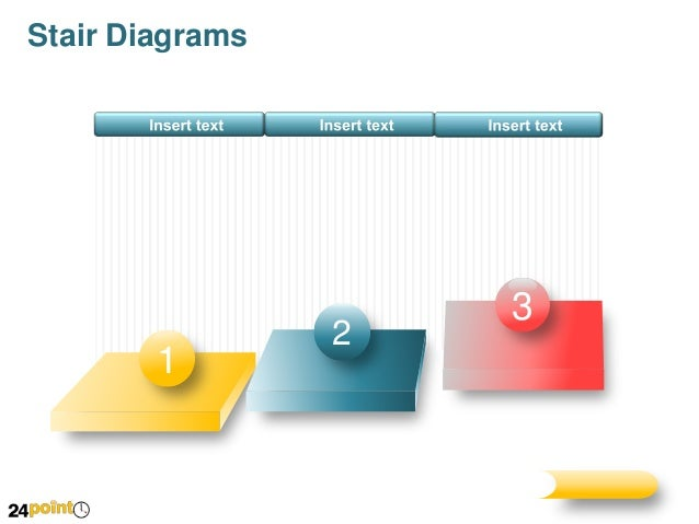 Stairs Diagrams Editable Powerpoint Presentation
