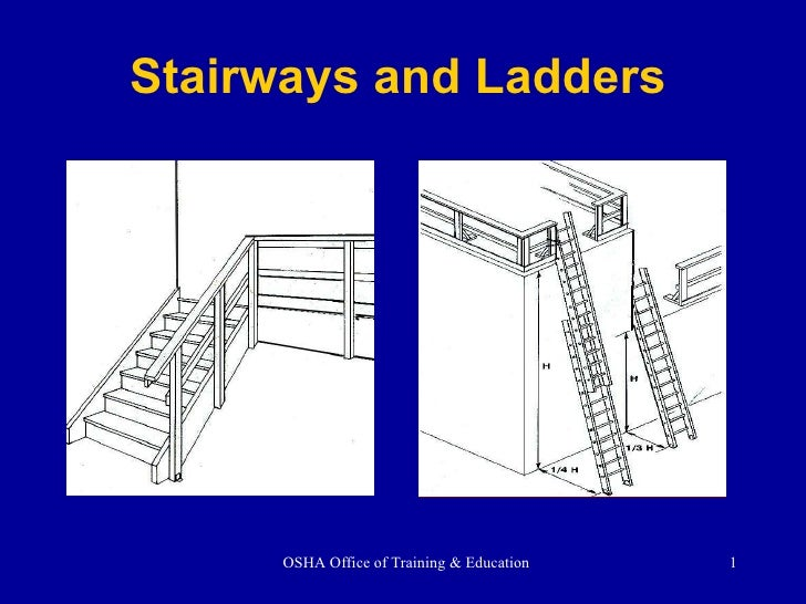 Stairs Ladders Ppt