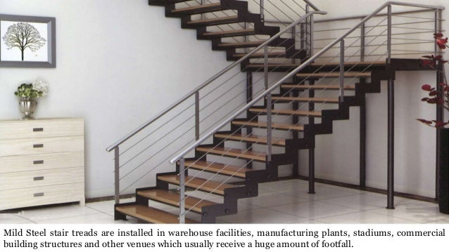 ... Stability; 7. Mild Steel Stair Treads Are Installed In Warehouse ...