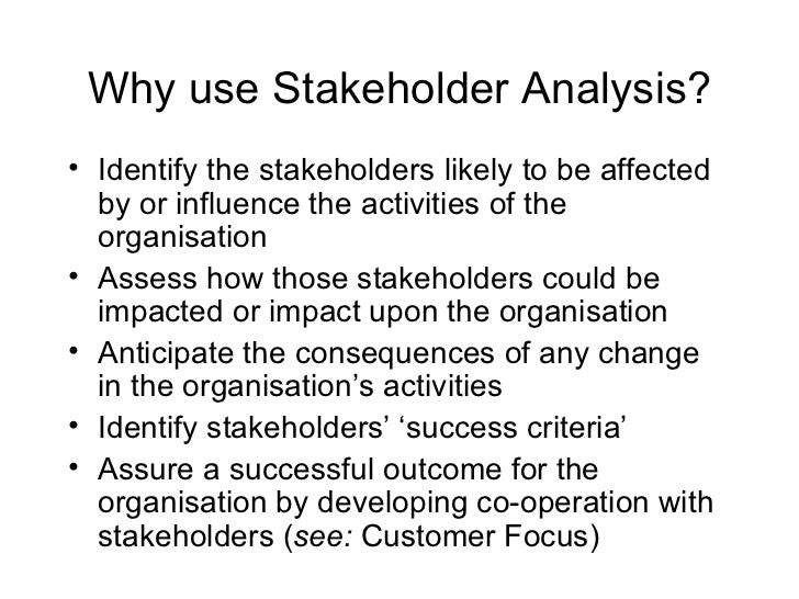 apple s stakeholder analysis Every subsequent project artifact is built from the results of your stakeholder analysis consider it your project's kernel.