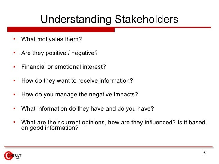 what are stakeholders essay P2 describe the different stakeholders who influence the purpose of two contrasting businesses in this task i am going to be writing a business report.