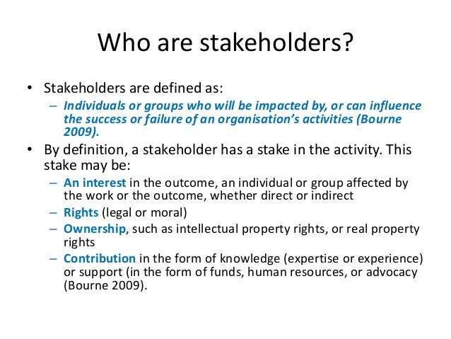 stakeholders conflict Shareholders and stakeholders:  senior specialist, psacg, theworld bank a longstanding debate in corporate governance centres upon a perceived conflict between.