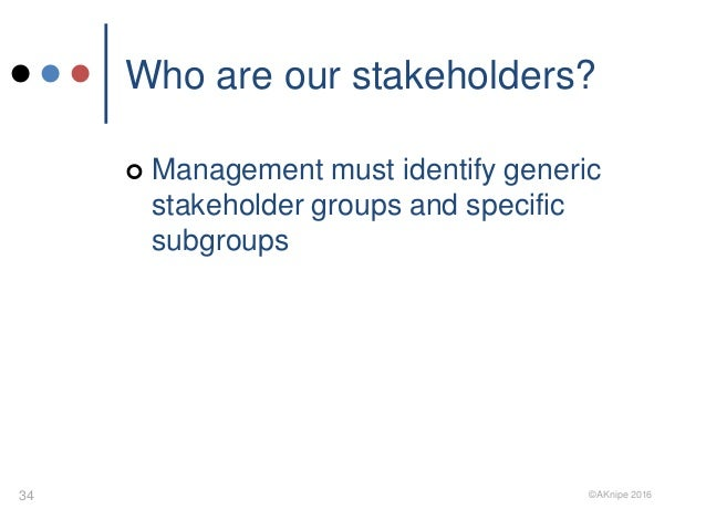 determine organisational stakeholders and their expectations Managing stakeholder expectations is an important part of managing project-based work if you're lucky, project stakeholders have clearly defined the value of what the successful outcome of their project might look like i say lucky because unfortunately, clearly defining the potential value of an .