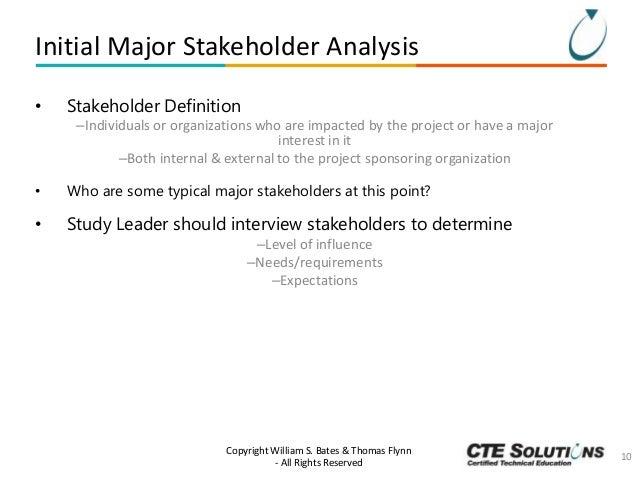 Project Management Essentials: Stakeholder Management