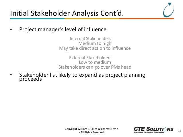 Project Management Essentials: Stakeholder Management Slide 11