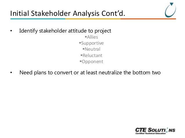 Project Management Essentials: Stakeholder Management Slide 12