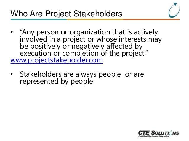 Project Management Essentials: Stakeholder Management Slide 3
