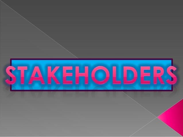 De donde proviene la palabra Stakeholders La traducción de esta palabra ha generado no pocos debates en foros de Internet,...
