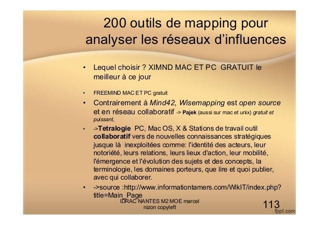 200 outils de mapping pour analyser les réseaux d'influences • Lequel choisir ? XIMND MAC ET PC GRATUIT le meilleur à ce ...