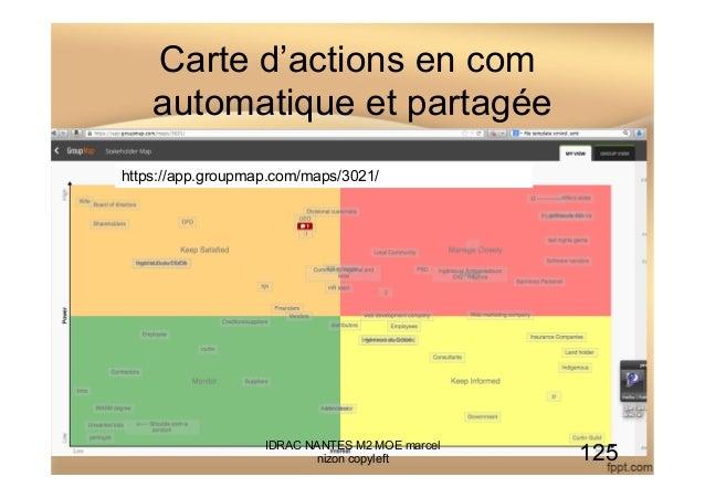 Carte d'actions en com automatique et partagée IDRAC NANTES M2 MOE marcel nizon copyleft 125 https://app.groupmap.com/maps...