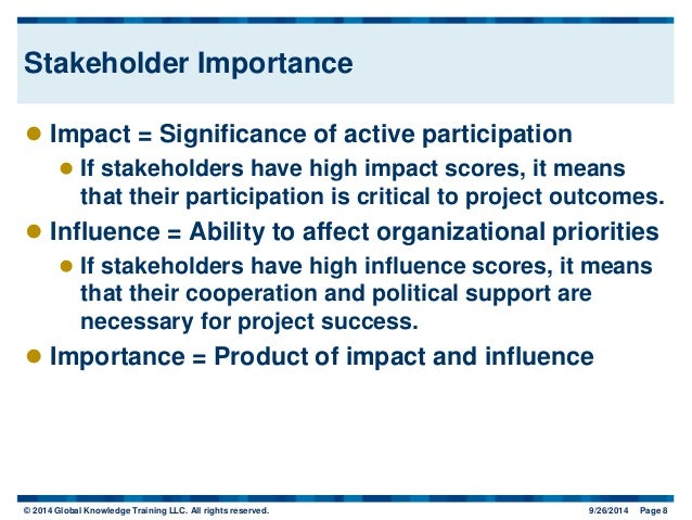 stakeholder influence 2 summary stakeholder influence mapping is a tool to examine and visually display the relative influence that different individuals and groups have over decision-making.