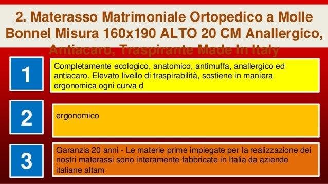 Materasso Matrimoniale Ortopedico A Molle.La Top 9 Materasso Ortopedico Matrimoniale A Molle Insacchettate Nel