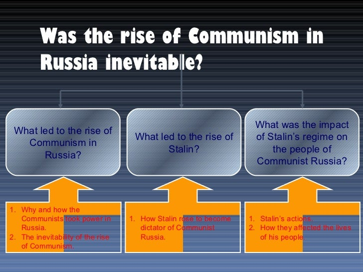 effects of communism in russia