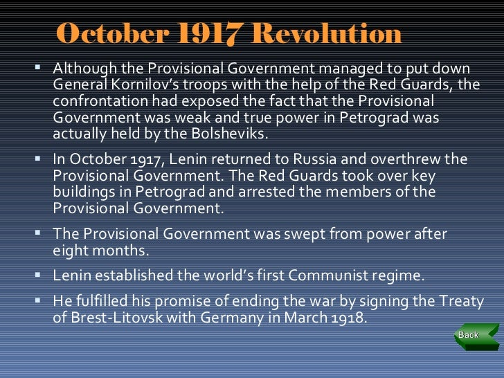 downfall of the provisional government and the rise of bolsheviks The russian provisional government failed as a result of its temporary status and its attempt to prolong the war it also failed because it was at the mercy of the petrograd soviet the primary reason why the russian provisional government failed was because it tried to continue the war in june .