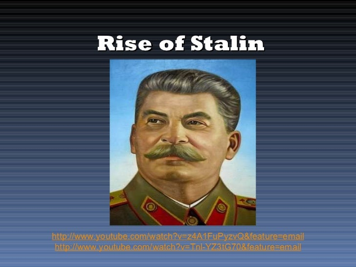 an analysis of hitler and stalins rise to power Joseph stalin's rise to power in 1912, lenin, then in exile in switzerland, appointed joseph stalin to serve on the first central committee of the bolshevik party three years later, in november 1917, the bolsheviks seized power in russia.