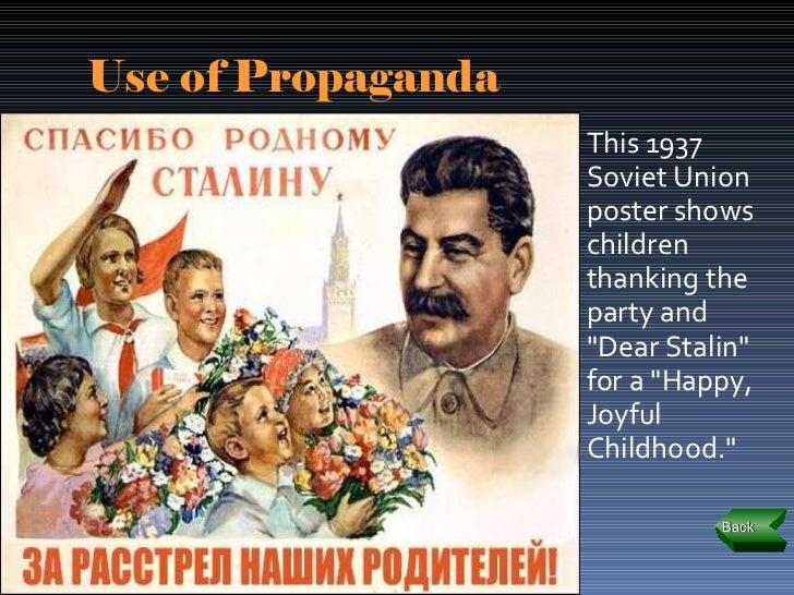 explain how stalin developed the cult Stalinism and the use of propaganda by joseph stalin developed by stalin is contributed to a cult of personality in other words, stalin thought.